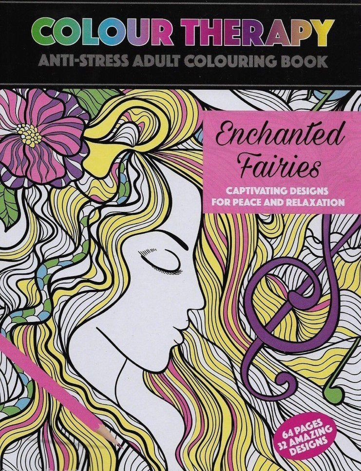 Wholesale Colour Therapy Enchanted Fairies Book