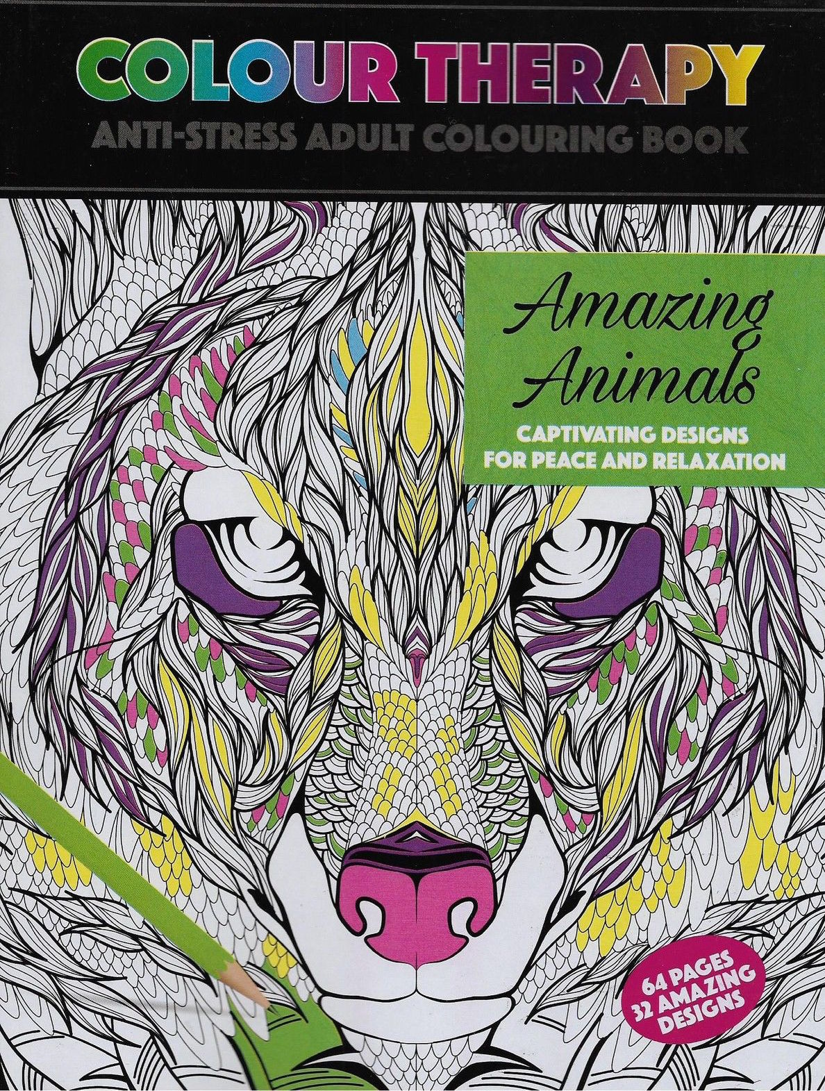 Wholesale Colour Therapy Amazing Animals Book