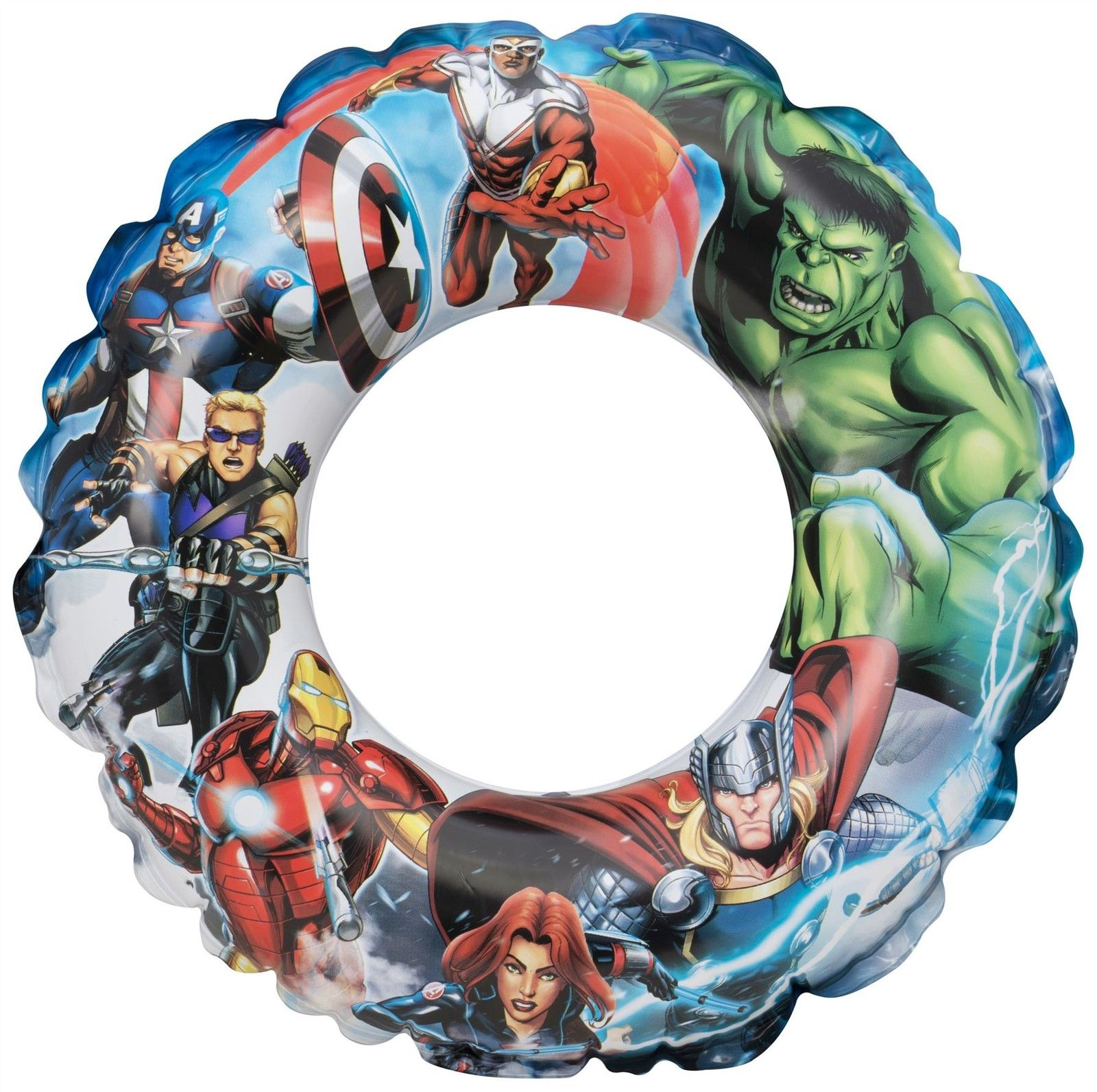 Wholesale Marvel Avengers Swim Ring Cut Price Character