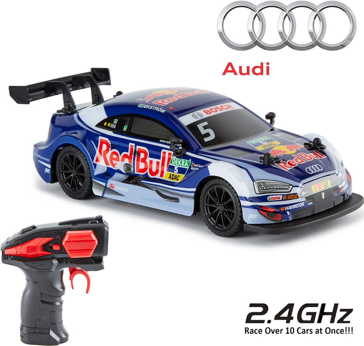 Wholesale Audi A4 DTM Red Bull Remote Control Car