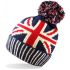 5060151707154 Unisex Adults Union Jack Bobble Hat