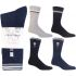 Mens Big Foot Cotton Rich Sport Socks