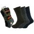 34SED072 Mens Chunky Wool 2.1 tog Thermal Boot Socks