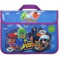 303204 PJ Masks Heroes V's Baddies School Book Bag
