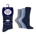 SOLRP04 Ladies SockShop Gentle Grip HoneyCombe Top Socks