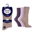 SOLRP06 Ladies SockShop Gentle Grip HoneyCombe Top Socks