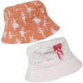 C579 Girls Ballerina Detail Beanie Bush Sun Hat
