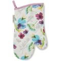 SG9903 Cooksmart Chatsworth Floral Single Gauntlet Oven Glove