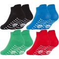 42B567 Boys Gripper Sole Trainer Liner Socks