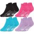 43B570 Girls Gripper Sole Trainer Liner Socks