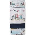 1302 Beside The Seaside Tea Towels