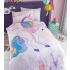 Unicorn Character Single Duvet Cover