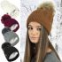 HAi-689 Ladies Cable Knitted Ski Hats