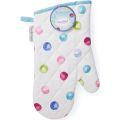 SG1313 Spotty Dotty Single Gauntlet Oven Glove