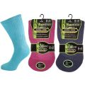 Ladies Bamboo Diabetic EXTRA WIDE Non Elastic Socks
