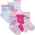 Infant Girls Unicorn Character Ankle Socks