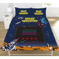 Space Invaders Coin Double Duvet Cover Set