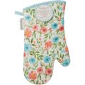 CookSmart Country Floral Gauntlet Oven Glove