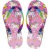Girls Unicorn Design Flip Flops