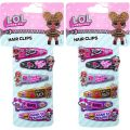 Girls L.O.L Surprise Character Hair Clips