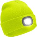 HAi-419F Neon Yellow LED Light Head Touch Hat