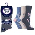 SOLRH159 Ladies SockShop Gentle Grip Diabetic Socks