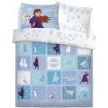 Disney Frozen 2 Patchwork Double Duvet Bedding Set