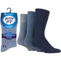 5019041179946 Mens Gentle Grip Big Foot Non Elastic Socks