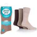 5019041016425 Mens BigFoot Diabetic Gentle Grip Non Elastic Socks