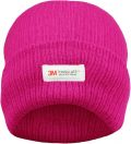 Ladies Cerise 3M Thinsulate Insulated Thermal Hat