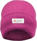 Ladies Pink 3M Thinsulate Insulated Thermal Hat