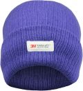 Ladies Violet 3M Thinsulate Insulated Thermal Hat