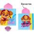 Girls PAW Patrol Character Hooded Towel Poncho