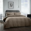 5051346360896 Waffle Natural Double Duvet Cover Set