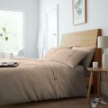 5051346361336 Waffle Natural Double Duvet Cover Set