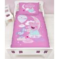 5056197132302 Peppa Pig Stardust Junior Cot Duvet Set