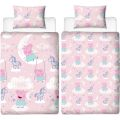 5056197132166 Peppa Pig Stardust Single Duvet Cover Bedding Set
