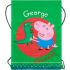 5036278051715 George Pig Character Gym PE Shoe School Bag