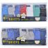 BR208A Boy Hipster Briefs Value Pack